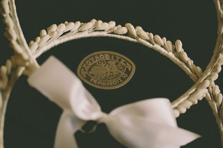 Traditional, handcrafted wedding crowns in porcelain, lemon flowers!