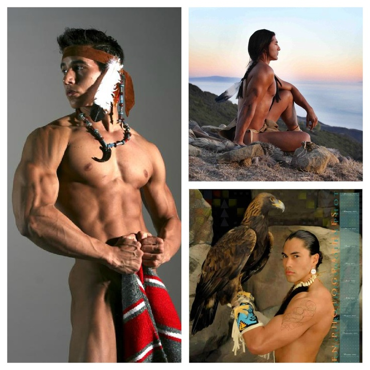 hot native american man