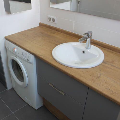 Découvrez le modèle de meuble de salle de bain Dijon, conçu et réalisé par Atlantic Bain !