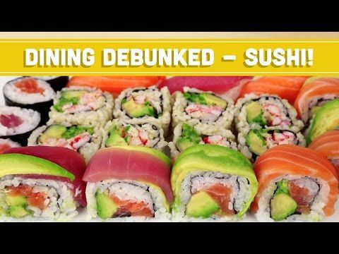 Healthy Sushi Choices: Dining Debunked! Mind Over Munch - YouTube