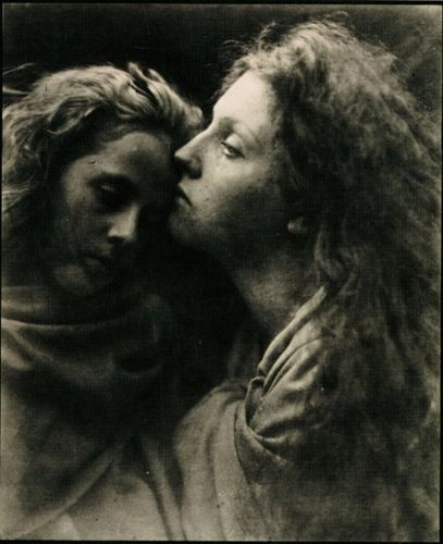 'The Kiss of Peace' by Julia Margaret Cameron (c.1869)