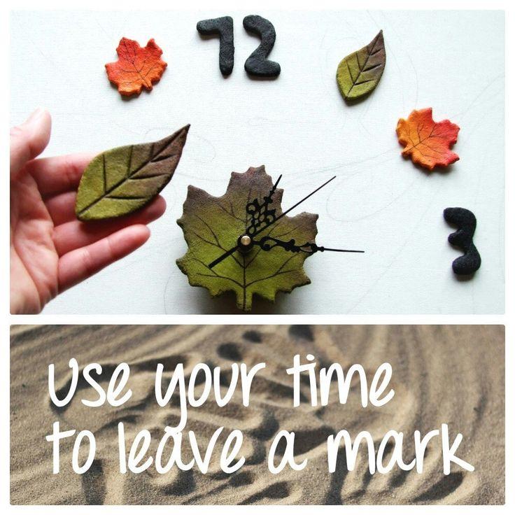 Usa il tuo tempo per lasciare un segno.