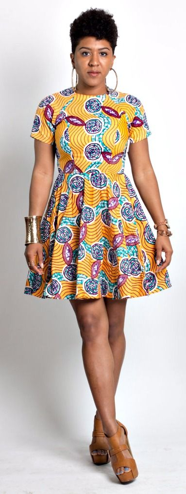 An A Leap of Style bestseller, The Von Me Dress is an african print fit and flare dress that is flattering on a variety of figures. Ankara | Dutch wax | Kente | Kitenge | Dashiki | African print dress | African fashion | African women dresses | African prints | Nigerian style | Ghanaian fashion | Senegal fashion | Kenya fashion | Nigerian fashion | Ankara crop top (affiliate)