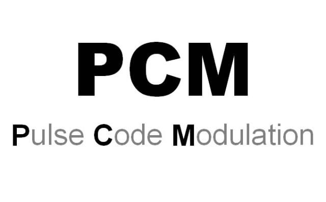 When it Comes to Digital Audio, What Does PCM Stand For?: PCM - Pulse Code Modulation
