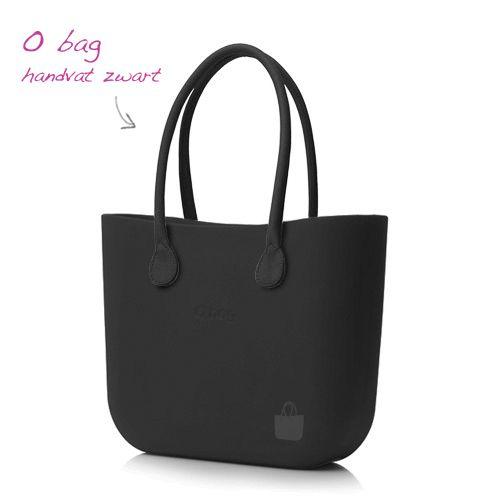 O bag body Zwart - Handvat zwart
