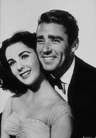 Elizabeth Taylor and Peter Lawford (1948)