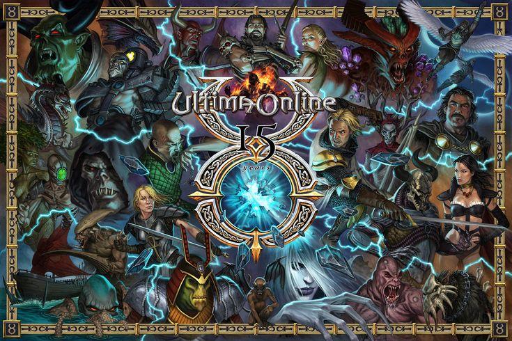ArtStation - Ultima Online 15 Year Anniversary, Eric Polak