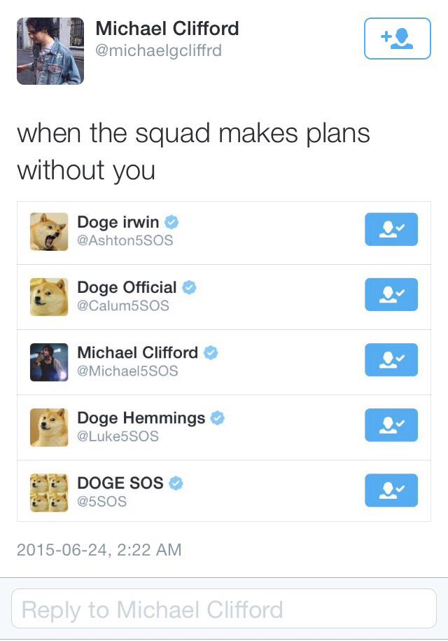 BYe ..... Clifford changed his to majestic doge                                                                                                                                                                                 More