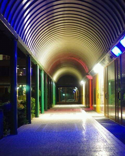 #centrocommerciale #Pinarella di #cervia #colors of the #night