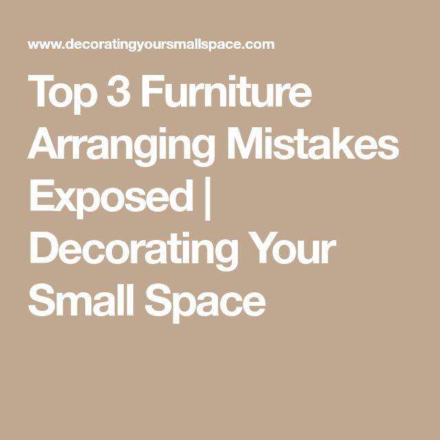 Best 25+ Furniture arrangement ideas on Pinterest ...