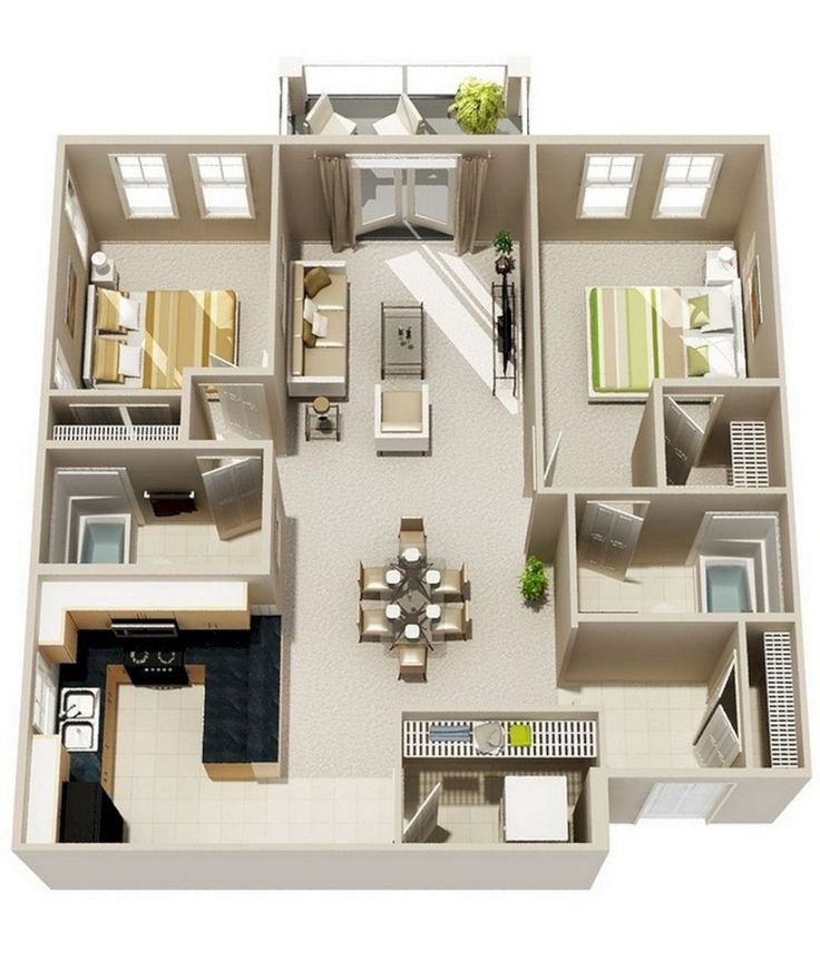 33 best maison images on Pinterest Home plans, Small houses and