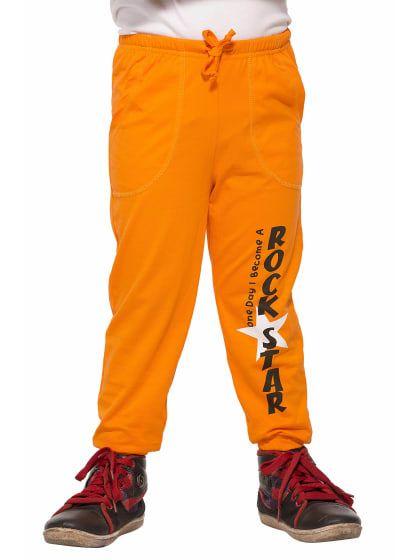 ae6785cfb Orange Kids Printed Cotton Track Pant   Only on karttrend.wooplr.com   Best Track  Pants Online