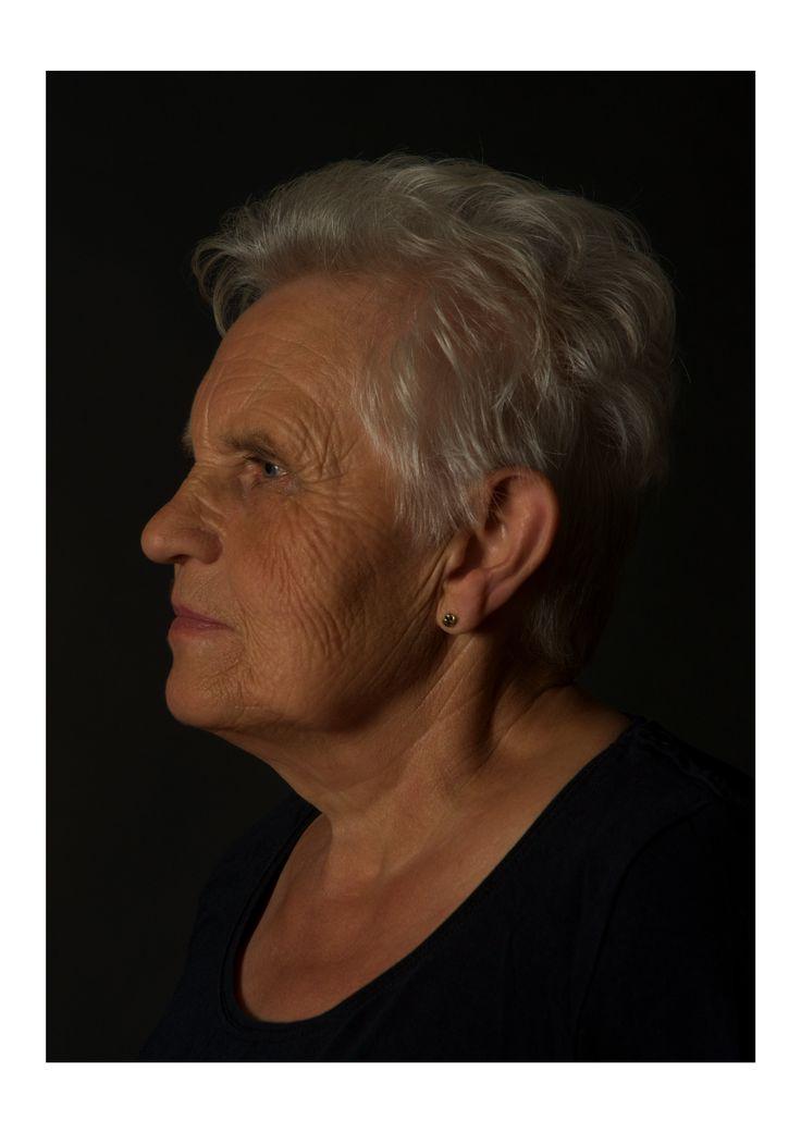 Riet Schraets portrait.