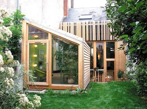 11 best Bardage and co images on Pinterest Wooden houses, Modern - faire extension maison pas chere