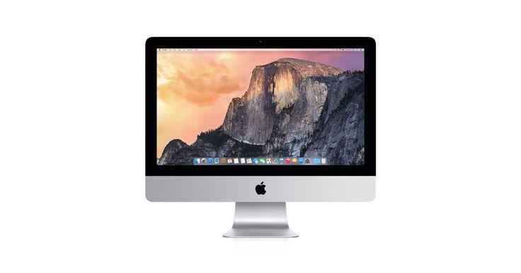 Nya iMac har en supertunn allt-i-ett-design, imponerande widescreenskärm, de senaste processorerna och grafiken och avancerade lagringsalternativ.
