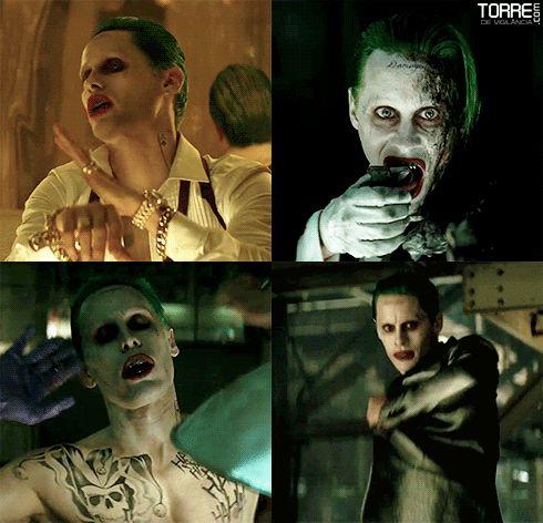 Jared Leto's Joker Gifs