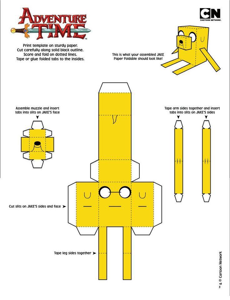 5 Papercraft de hora de aventura gratis - Taringa!