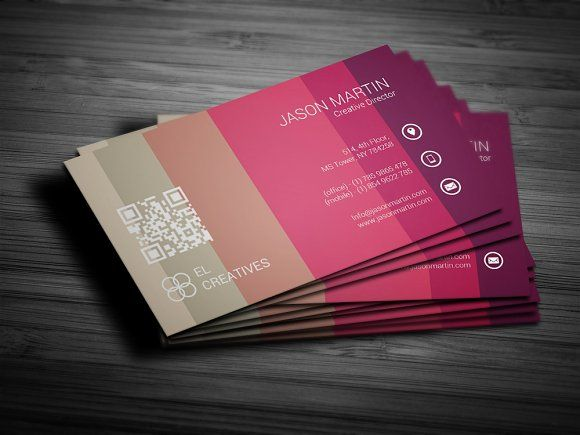 142 best business cards images on pinterest business card design colorful unique business card fbccfo Gallery