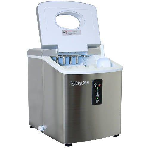 EdgeStar Portable Stainless Steel Ice Maker - IP210SS