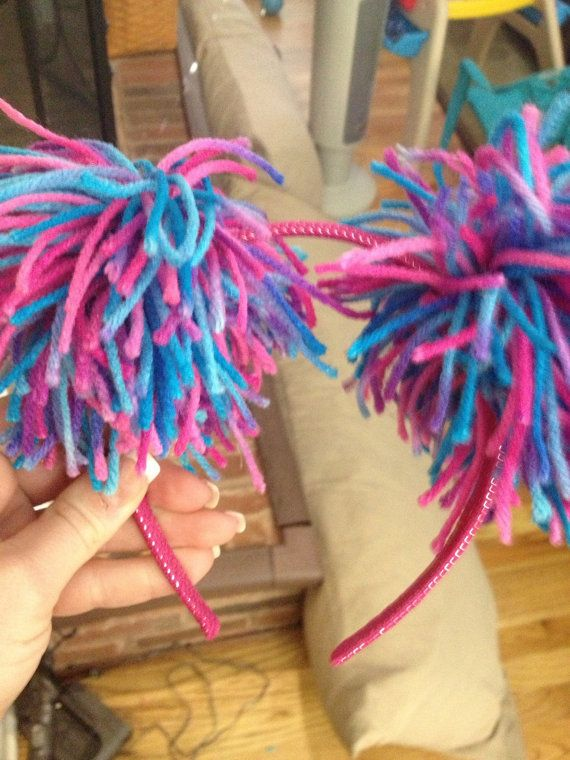 Sesame Street Abby Cadabby headbands by Handmadepartybymom on Etsy, $1.50