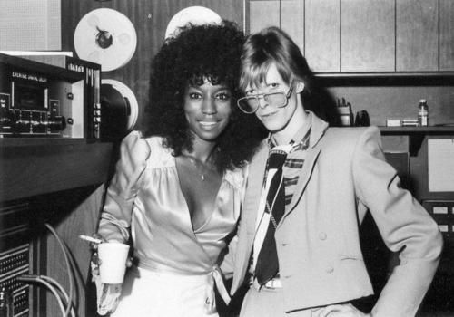 AUGUST & NOVEMBER 1974 - SIGMA SOUND STUDIOS, PHILADELPHIA - Fayette Pinkney with Bowie