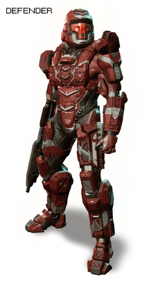 "Halo 4 Armor ""Defender"""