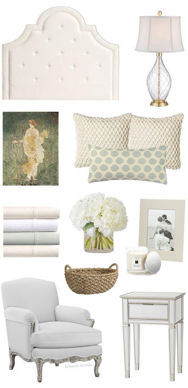 calming bedroom w/ soft palette