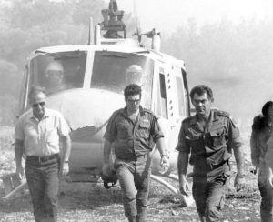 guerre de kippour:Le chef d'Etat-major David Elazar et Itshak Rabin