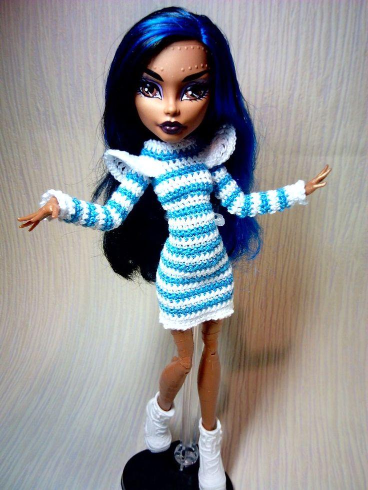 Monster High и другие. Платье для куклы.