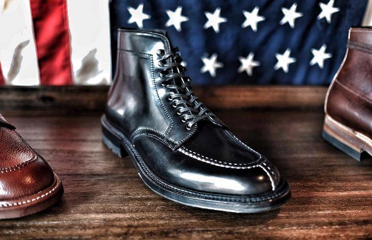 Black Tanker Boot - only 10D left  #aldenarmy #Alden #aldenshoes #tankerboot #broguemenlopark #shoepolish #shoeholic #shellcordovan #horween #styleforum #heddels #ootd #wiwt