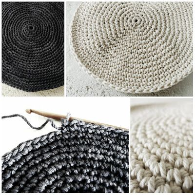 How to crochet a perfect flat circle when you need one. Tutorial by Pigtails.
