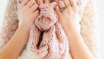 Sciarpa Baktus circolare all'uncinetto ( Baktus scarf crocheted)