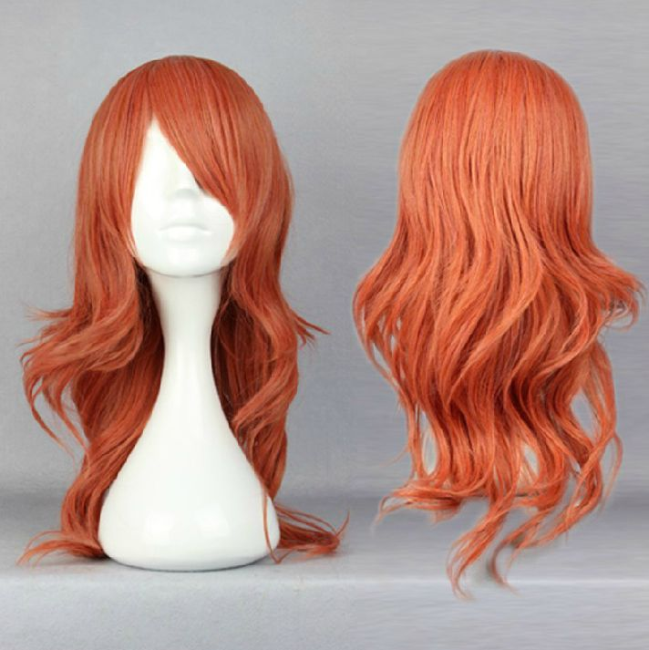 Final Fantasy Vanille Cosplay Wig