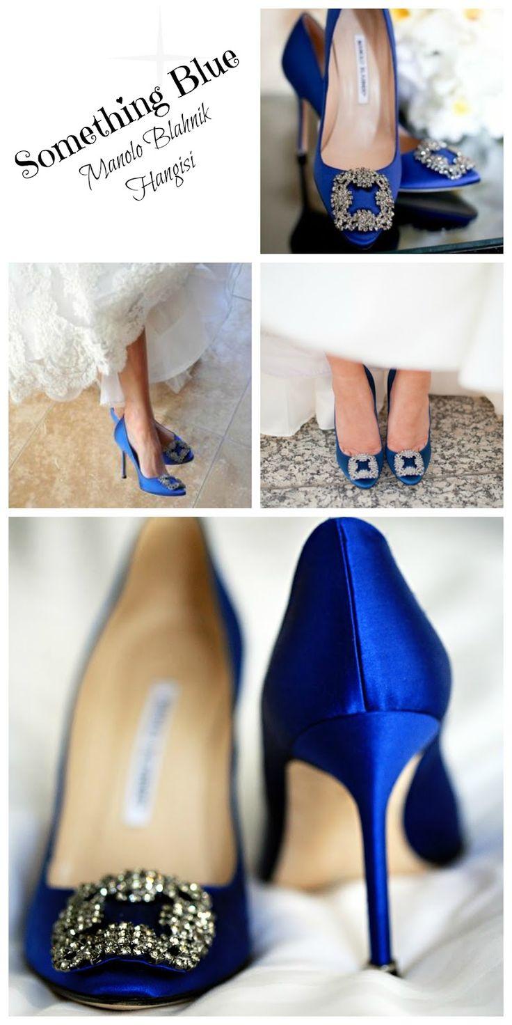 something blue: Manolo Blahnik Hangisi