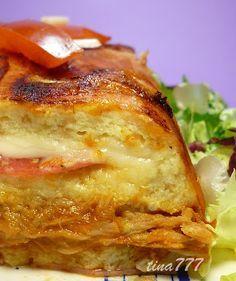 Pastel Salado Pan de Molde ~ Al Rincón de Cocinar