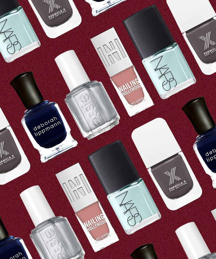 Best Nail Polish Colors For Winter | Celeb nail artist Steph Stone predicts 2016's biggest nail-color trends. #refinery29 http://www.refinery29.com/nail-polish-trends-2016