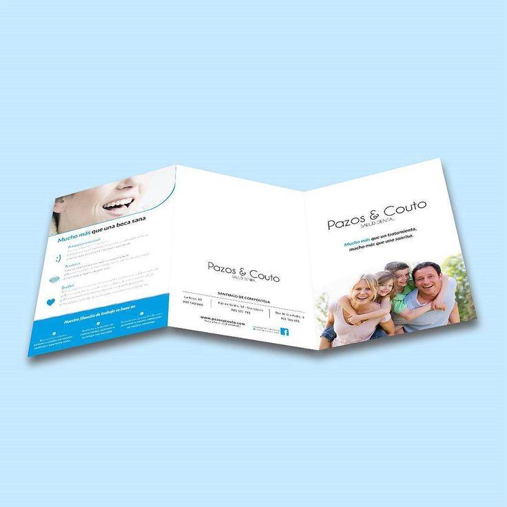 Ya están listos los nuevos trípticos que hemos diseñado para Clínicas Pazos&Couto #diseñoGalicia #galiciaDiseño #Yeti #galiciaCalidade #galicia #diseño #comunicacion #love #vedra #santiagoDC #trabajoBienHecho #imagenCorporativa #instagood #happy #swag #design #graphicDesign #amazing #bestOfTheDay #art #creatividad #creative #triptico #publicidad #dental #boca #ortodoncia #implantes