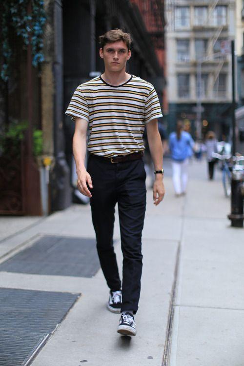 Male Model Street Style: