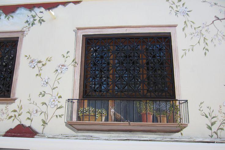mural,trampantojo,fachada