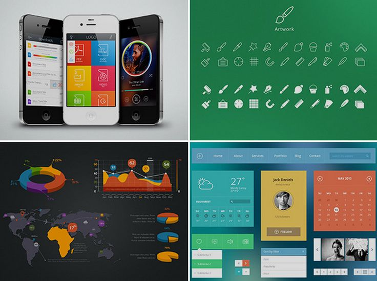 91% off a lifetime of premium UI kits and design resources