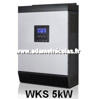 onduleur hybride wks 5 kw pour site isol vente en ligne panneaux solaires vosges lorraine. Black Bedroom Furniture Sets. Home Design Ideas