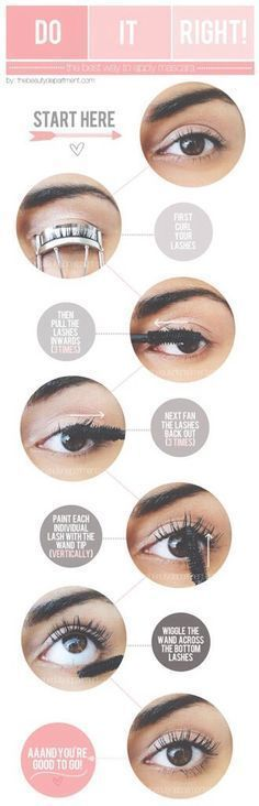 Perfect Mascara Routine for Huge Long Lashes..How to Apply Mascara Correctly.. ideas about Applying Mascara on Pinterest..Tricks For Perfect Eyelashes..How to Apply Mascara– Tutorial, Tips, Put On Bottom Lash..Mascara Tricks for Flirty Lashes..How to Master Lower-Lash Mascara