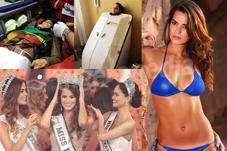 Miss Universe candidate Valeria Piazza in good spirit even after Car Crash