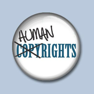 Keine Urheberrechte nur Menschenrechte von KissMyButtonsBaby