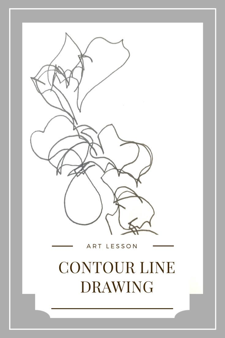 small resolution of Pin by Inside out ART on art~lesson in 2020   Contour line drawing