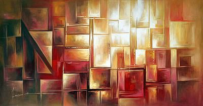 Original Abstract Painting - Law of Attraction II | NOVICA
