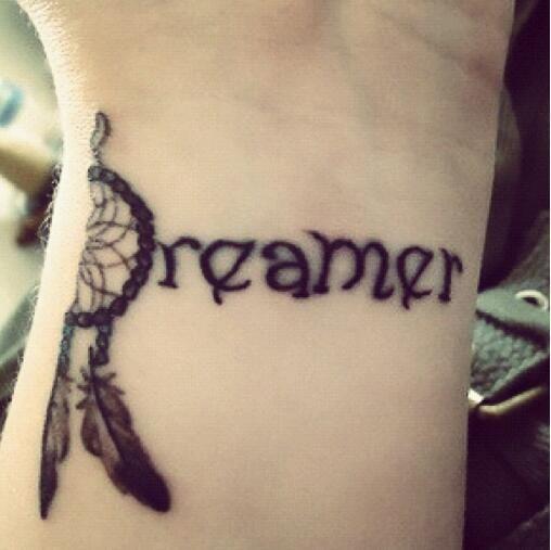 Dreamer Tattoo | Stuff I want | Pinterest | Creative ...