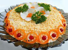 Для праздничного стола… Салат «Бунито» — Вкусные рецепты