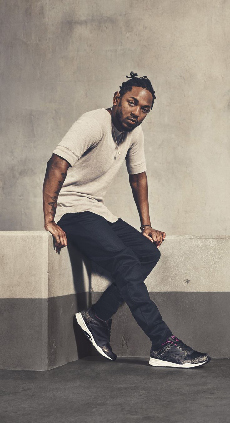 This man is a lyrical genius, changing the rap game, and doing a damn good job doing it..the one and only Kendrick Lamar.