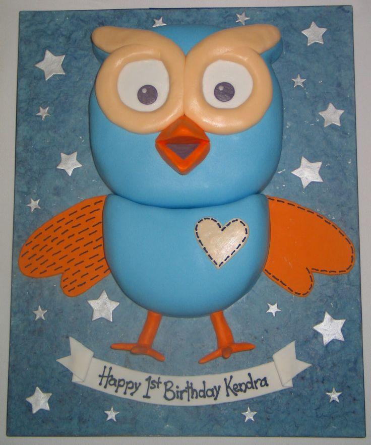 Giggle And Hoot Cake Template cakepins.com